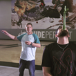 Magician Rick Smith Jr. Joins Dude Perfect for YouTube Card Throwing Tricks Showcase Video
