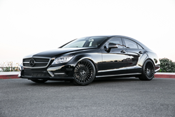 Mandrus Mercedes Wheels - the 23 on a CLS 550