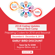Coding Updates Virtual Boot Camp 2018: Live Webinar by AudioEducator