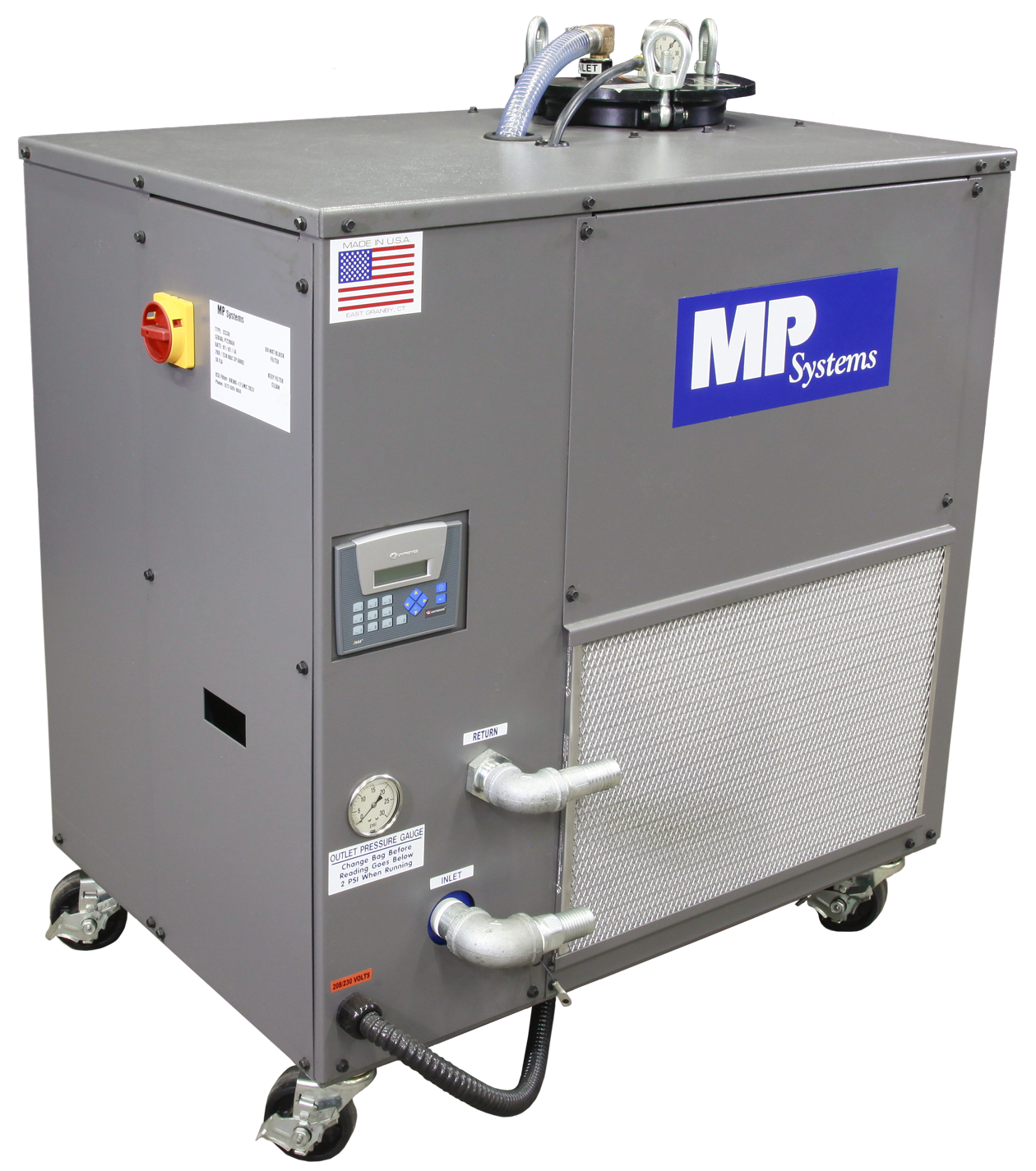 Small Exhibition Stand Alone : Mp systems to display new smart high pressure coolant