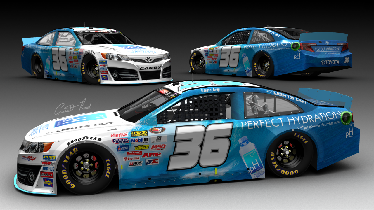 Perfect Hydration Signs NASCAR Racing Sponsorship with US ...