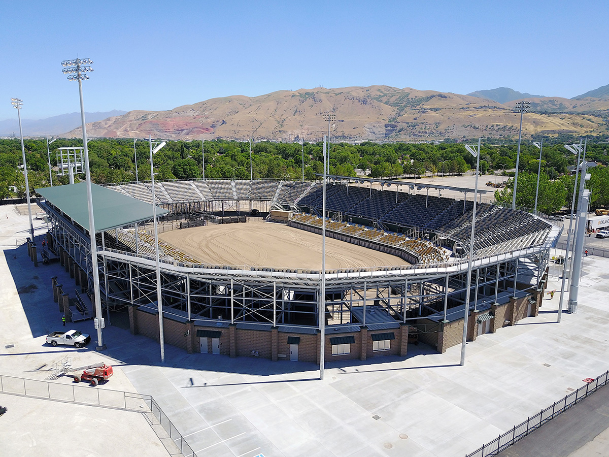 Gt Grandstands Constructs New Stadium For Renowned