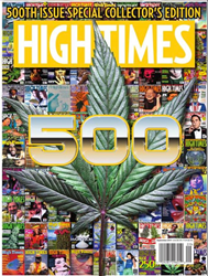 magazine cover for announcement of Kind LED - Best LED Grow Light 2017 - High Times - STASH Awards