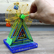Functional model of Ferris Wheel made with 3Dmate Design Mat and 3d pen.