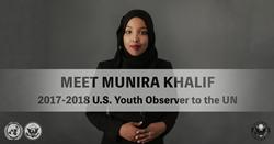 Youth Observer, Munira Khalif, 2017-18