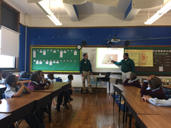 Green Pest Solutions Presents at Elementary School Career Day