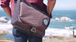 Mexxenger is eco-friendly and made with water resistant material derived from recycled PET bottles, repurposed bicycle tires and windsurf sails.