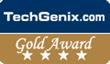 Gold Star Review Awarded to Caringo FileFly 2.0 by TechGenix.com