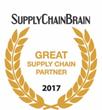 "Purolator International Named a ""2017 Great Supply Chain Partner"" By SupplyChainBrain Magazine"