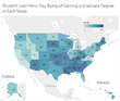 Study Shows Top 10 States Where a Graduate Degree Pays Off
