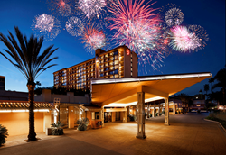 Sheraton Park Hotel at the Anaheim Resort, Calif.