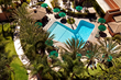 Aerial view of the pool, Sheraton Park Hotel at the Anaheim Resort