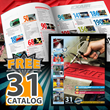 EXAIR's New Catalog 31 Features New Safety Air Guns, Static Eliminators, Atomizing Nozzles, Air Operated Conveyors and Digital Flowmeters