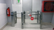 Boon Edam's Trilock 60 tripod turnstiles effectively manage user access for these public restrooms