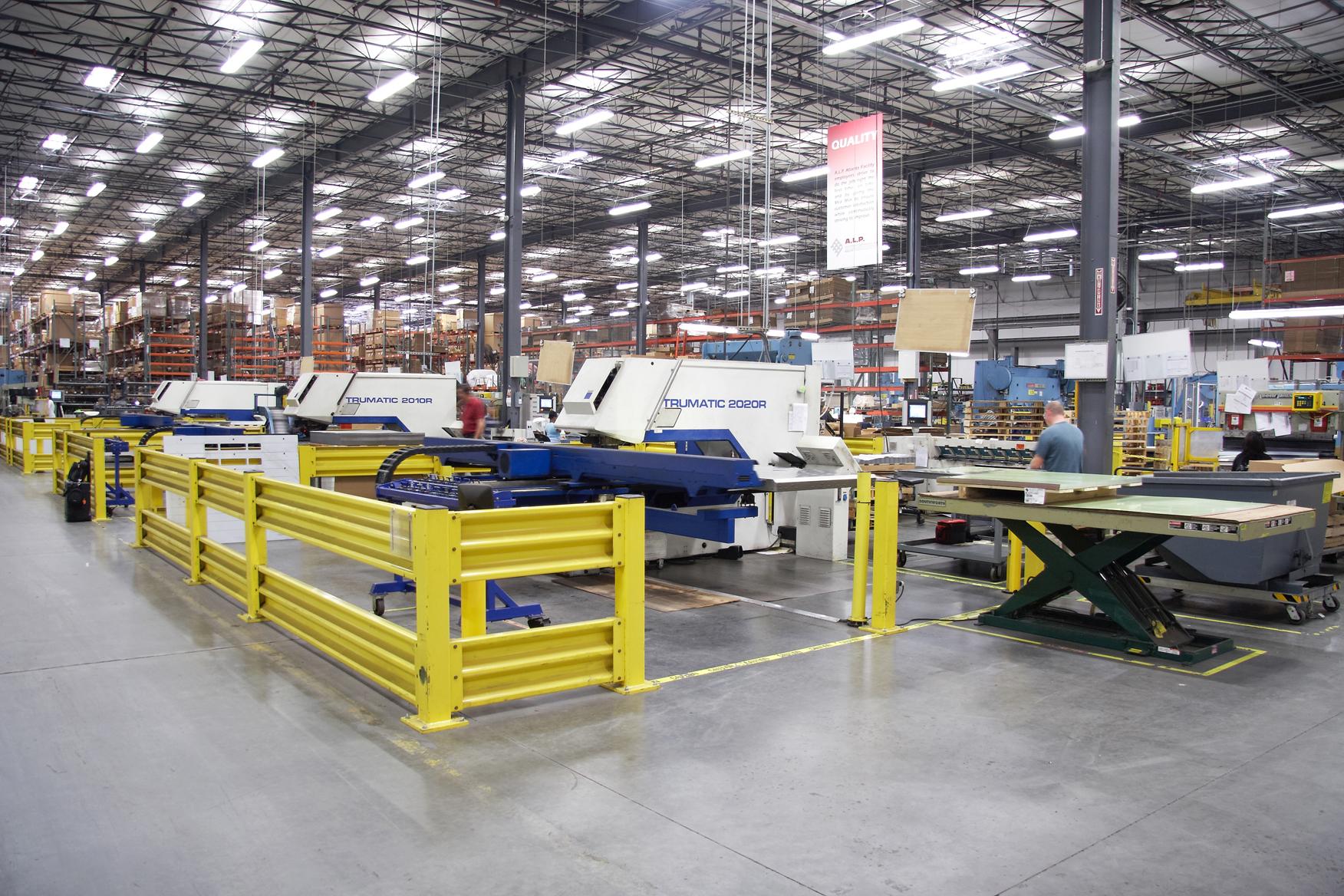 A.L.P. Lighting & Georgia Manufacturing Alliance Host Manufacturing Plant Tours ... azcodes.com