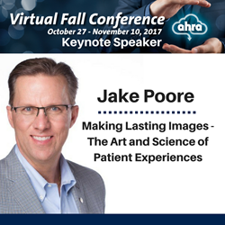 Jake Poore announced as AHRA's Virtual Fall Conference Keynote
