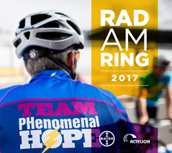 An image of a Team PHenomenal Hope cyclist at the 2016 Rad am Ring