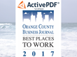 ActivePDF Named Among OC's Best Places to Work