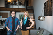 Ami Mariscal, Owner of Lift Your Business, and Matthew Manos, Owner at verynice design studio in Downtown Los Angeles in the Arts District.