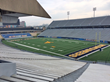 Milan Puskar Stadium, home to WVU's Mountaineers, underwent a major renovation which included the installation of hundreds of new bathroom partitions from Scranton Products.