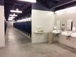 The new restrooms at Milan Puskar Stadium are designed for high traffic.