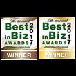 Gensuite Wins Gold & Bronze in the 2017 International Best in Biz Awards