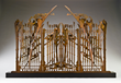 Albert Paley - Village of Hope Gate Model, 2008, steel, 48 x 72 x 13 inches