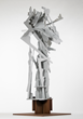 Albert Paley - Evanesce, 2004, weathering steel, 113 x 42 x 42 inches