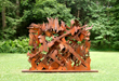 Albert Paley - Interlace, 2003, weathering steel, 91.5 x 120 x 25.5 inches