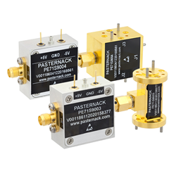 E and W-Band PIN Diode Waveguide Switches