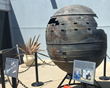 Re-entry Debris from Delta II Rocket Lands at Flight Path Museum