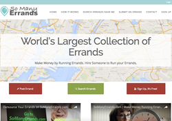 SoManyErrands.com | Hire Someone to Run Your Errands. Make Money by Running Errands.