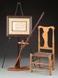 Glen, Jr. Archive, Including His Inscribed Revolutionary War Flintlock Officer's Fusil, estimated at $30,000-50,000.