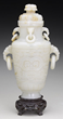 Jade Covered Vase, estimated at $12,000-15,000.