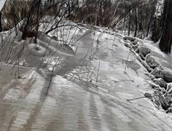 "Image of Linda Gross Brown's ""Footsteps #7"""