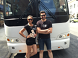 Tour guides from A Slice of Brooklyn Bus Tours