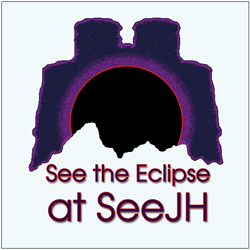 Image with SeeJH Eclipse logo and the words See the Eclipse at SeeJH.com