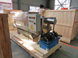 New laboratory stainless steel filter press was delivered to Quebec, Canada