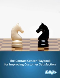 """The Contact Center Playbook for Improving Customer Satisfaction"" is a must read for customer service professionals."