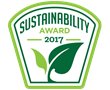 Logo for the 2017 Sustainability Awards