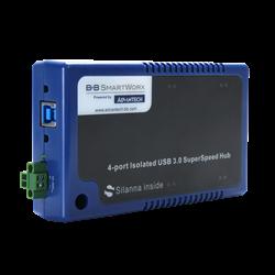 USH304, an isolated USB 3.0 SuperSpeed Hub