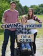 Sibling Founders of Coming Together for a Cure
