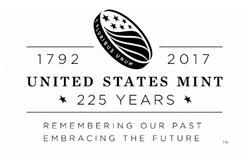 United States Mint 225th Anniversary Logo