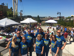 New Home Star's INW Washington Sales Team at fundraising event benefiting the homeless youth.