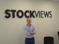 Jules Hull against the StockViews Logo