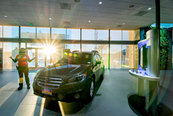 Subar Dealership at Sunrise