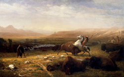 Albert Bierstadt: Last of the Buffalo