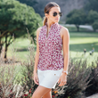 Course to Cocktails golf top with Monarch Beach golf skirt