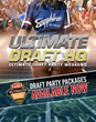 "Eleven of Today's Hottest Adult Stars to Host ""Ultimate Fantasy Football Draft Parties"" at Sapphire Las Vegas, July 28 to August 27, 2017"