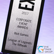 The Trade Group Wins EXHIBITOR Award for League of Legends Riftwalk
